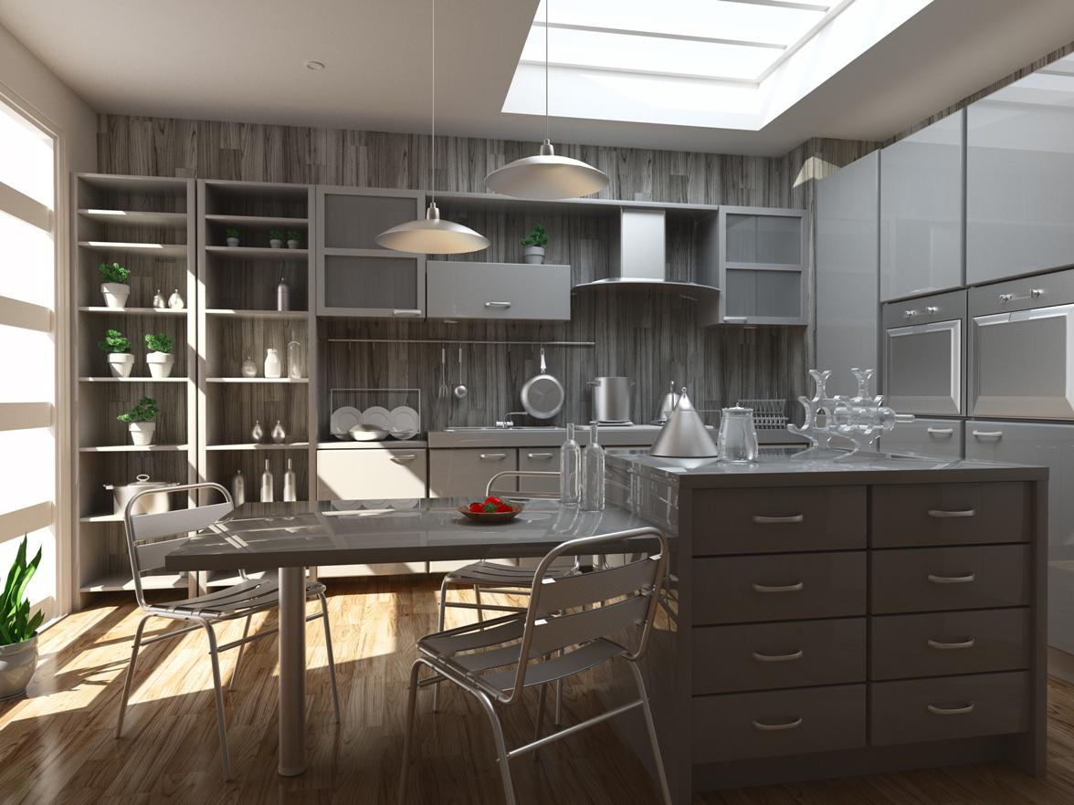 Cucine grandi con isola le cucine con isola per open for Divano xxl conforama