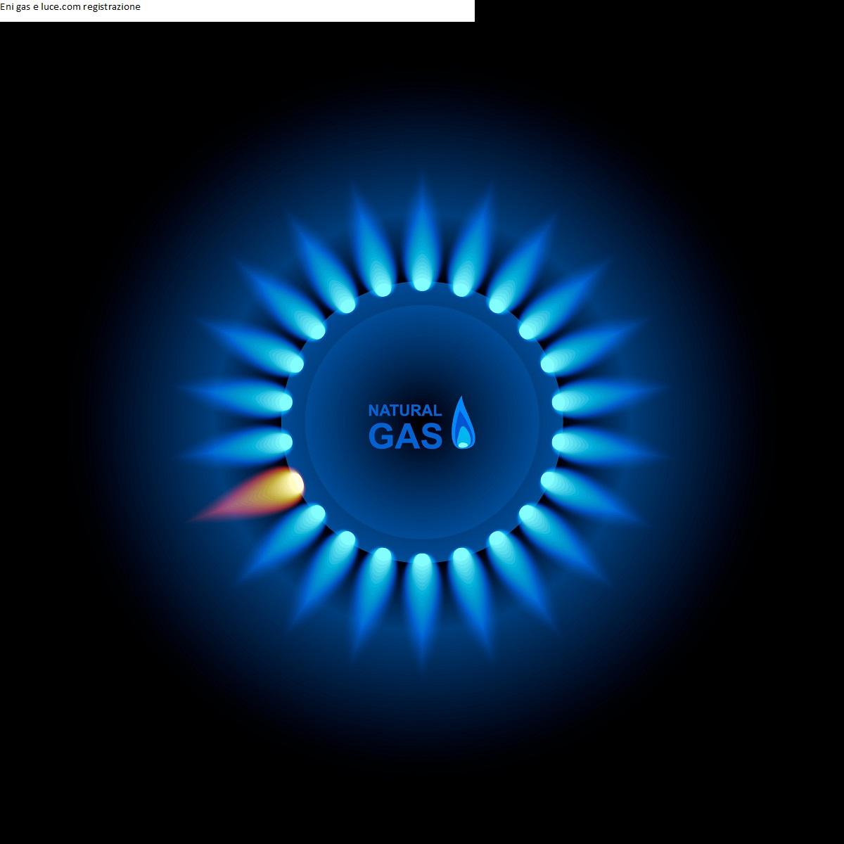 Eni gas e luce.com registrazione
